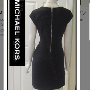 mk black dress